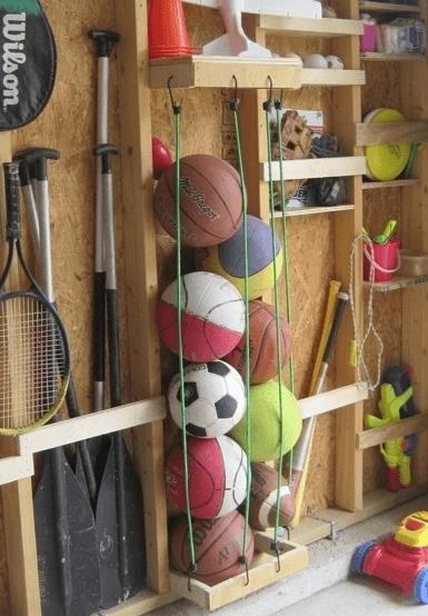 Fare ordine tra i palloni
