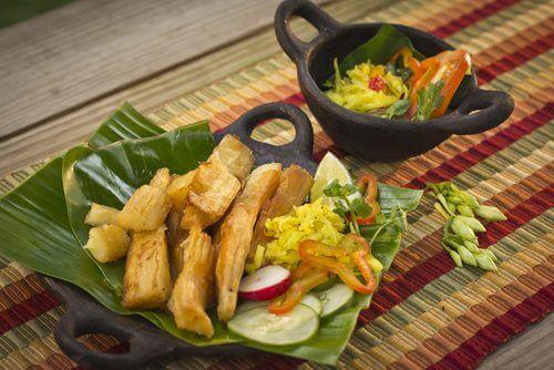 verdure crude in insalata