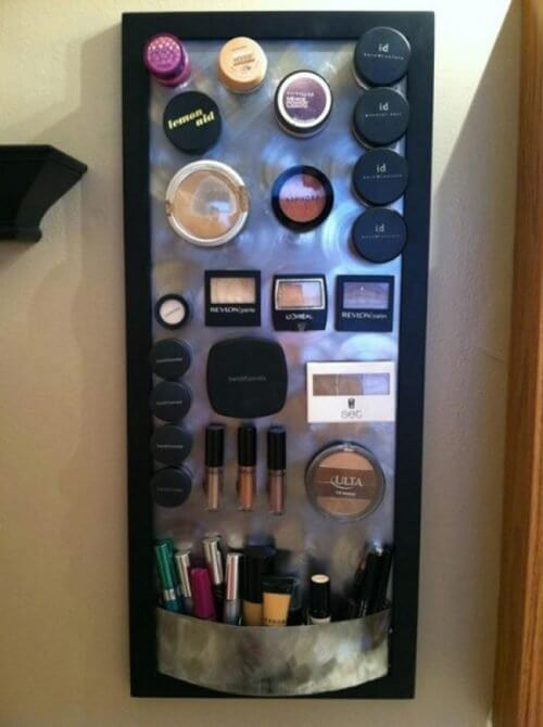 Fare ordine tra i cosmetici