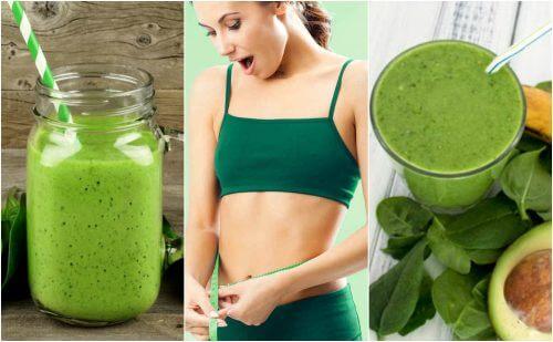 5 frullati agli spinaci che aiutano a dimagrire