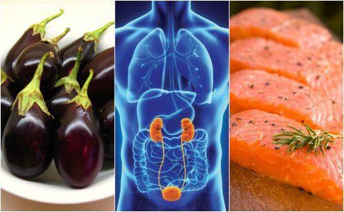 7 alimenti da portare a tavola per avere reni più sani