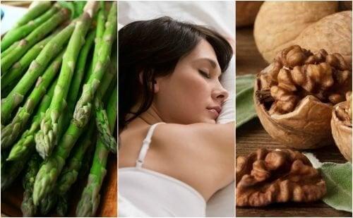 Migliorare la qualità del sonno con 9 alimenti ricchi di melatonina