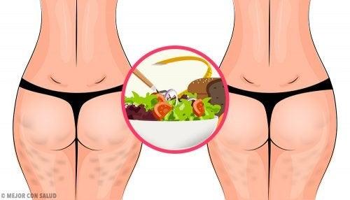 Come eliminare la cellulite con una dieta sana
