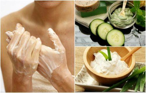 Come attenuare le macchie sulle mani con 5 creme naturali