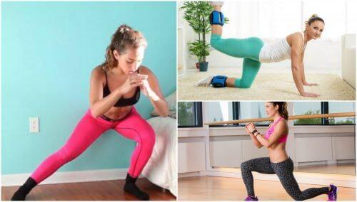 Tonificare i glutei in casa con 5 esercizi