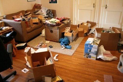 Accumulare non permette di tenere la casa ordinata