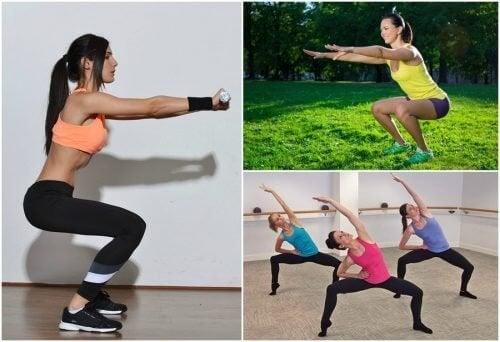 Squat in casa: 6 idee per tonificare le gambe