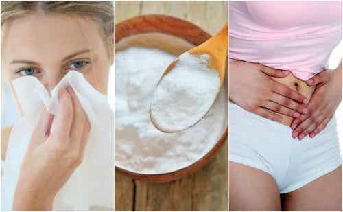 5 rimedi naturali a base di bicarbonato di sodio