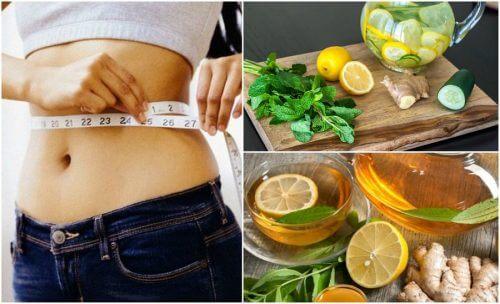 Lo zenzero ed il limone per combattere l'infiammazione e perdere peso