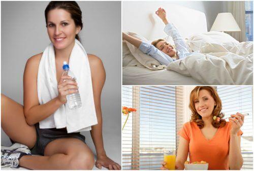 Dare energia al corpo con 5 abitudini quotidiane