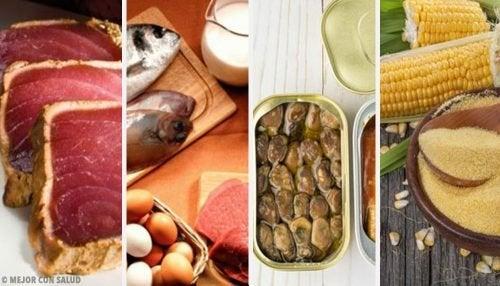 Gli alimenti che contengono più tossine