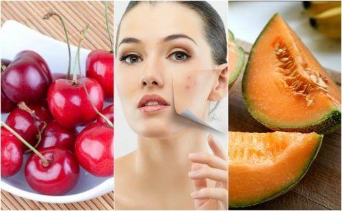 Alimenti per una pelle priva di impurità