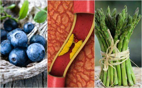 Evitare l'occlusione arteriosa con 7 alimenti