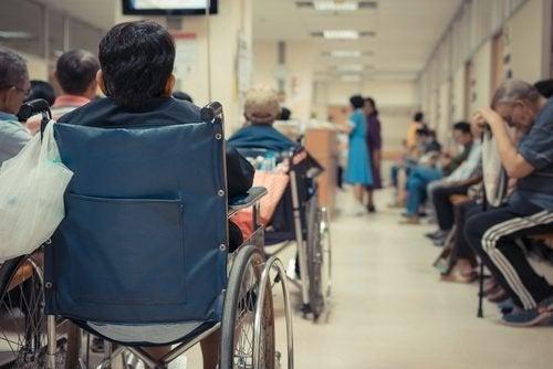 Pazienti in sala d'attesa