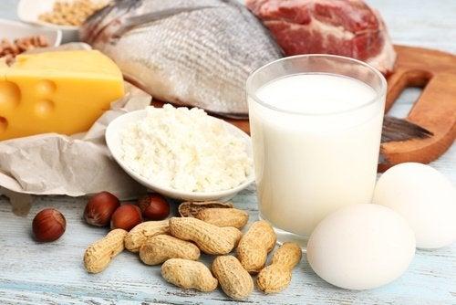 Proteine di vario tipo