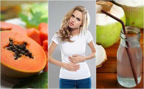Come alleviare i sintomi della gastrite mangiando la frutta