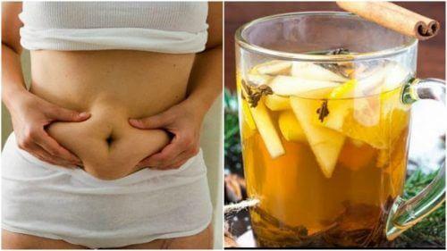 Tè verde, ananas e cannella per perdere peso