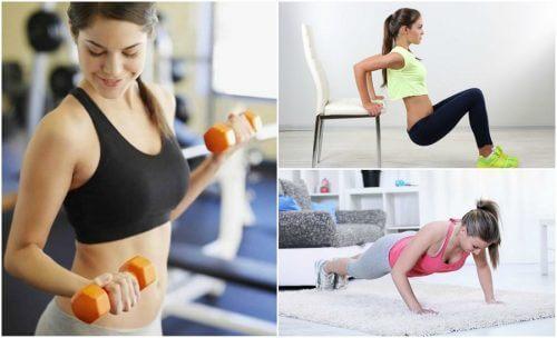 Tonificare le braccia con 6 esercizi