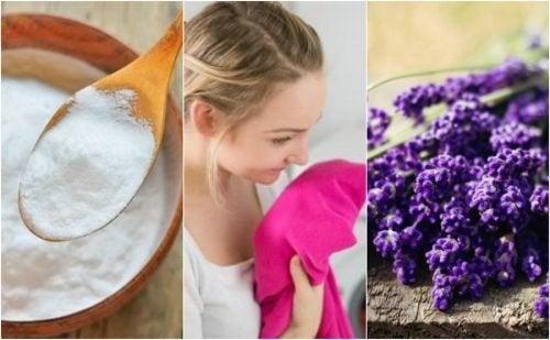 Togliere il cattivo odore dai vestiti: 5 semplici trucchi