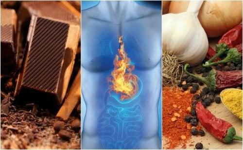 Reflusso gastroesofageo: 7 cibi da evitare