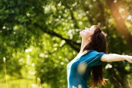 assumere una nuova prospettiva può essere un modo per liberarsi dell'ansia