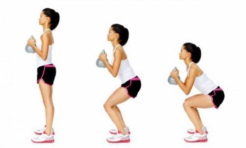 4 consigli per eseguire gli squat in modo corretto