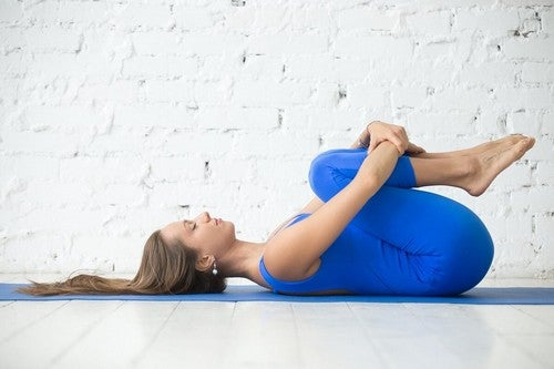 Fase di stretching.