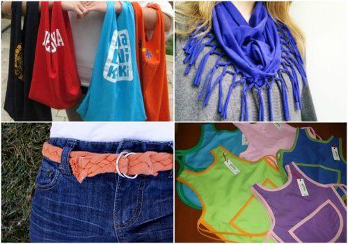 9 idee per riciclare le vecchie magliette in cotone