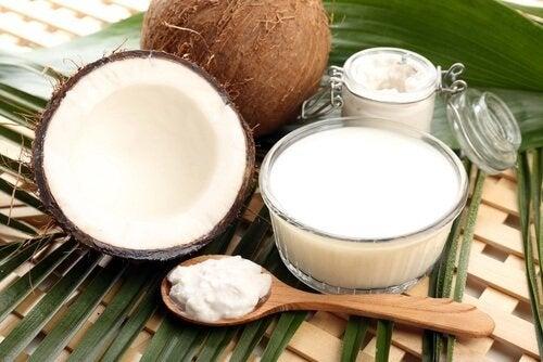 Latte e crema di cocco