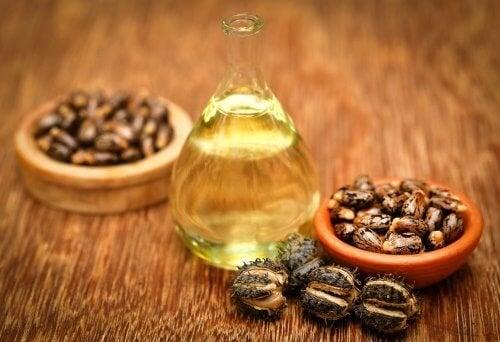 Olio e semi di ricino