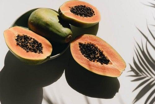 Papaya e benefici.
