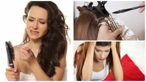 Eccessiva caduta dei capelli: 7 possibili cause