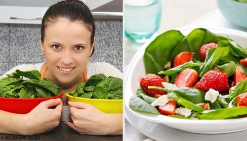 Ricette a base di spinaci da includere nella dieta