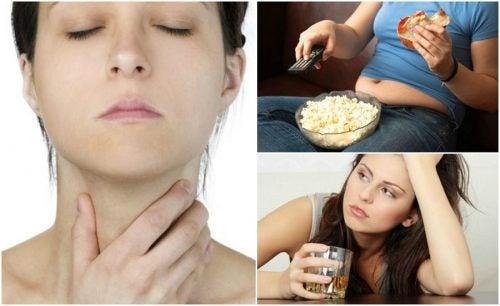 Salute della tiroide: 7 fattori di rischio