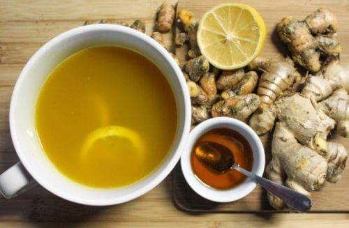 Sciroppo di miele e zenzero