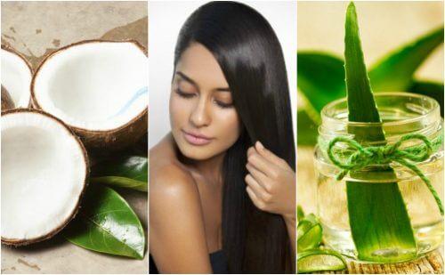 Lisciare i capelli senza danneggiarli: 5 trattamenti naturali