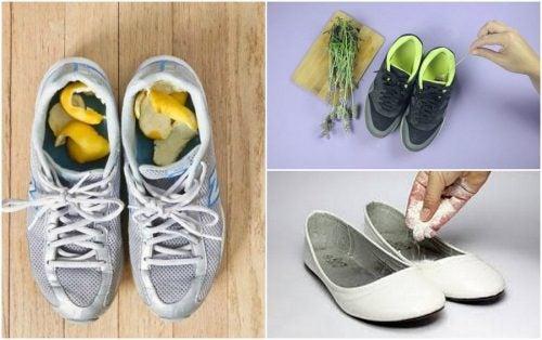 5 trucchi per eliminare il cattivo odore delle scarpe