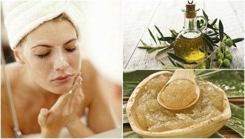 Olio d'oliva in 5 trattamenti di bellezza