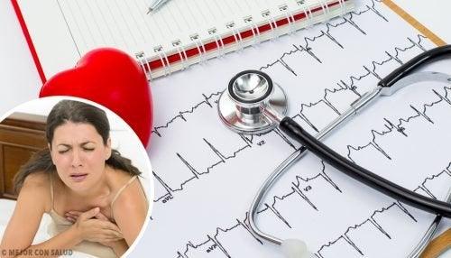 Soffrire di palpitazioni: 6 motivi principali