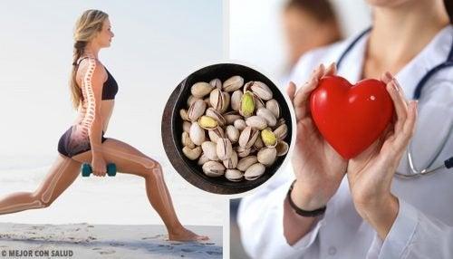 Perché i pistacchi fanno bene alla salute?