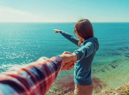 Fidanzati al mare