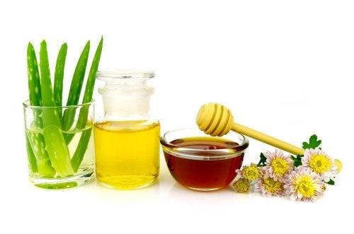 Struccante con aloe vera, olio e miele
