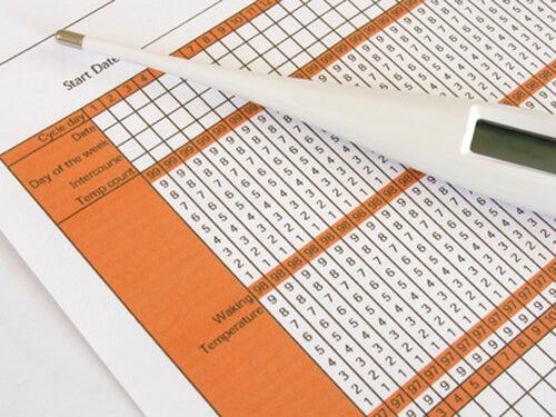 Tabella per la misurazione della temperatura basale