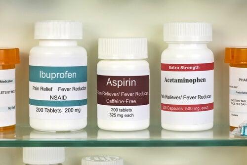 Ibuprofene, aspirina e acetaminofen