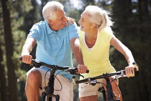 Andare in bici per mantenersi in forma