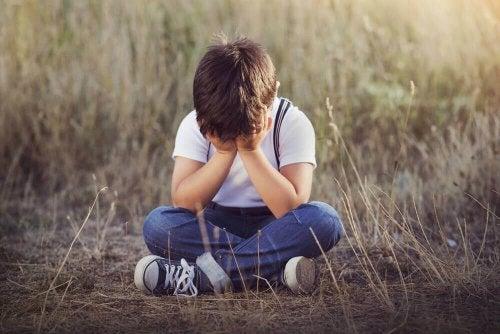 Psicosi infantile - Bambino con rimorso