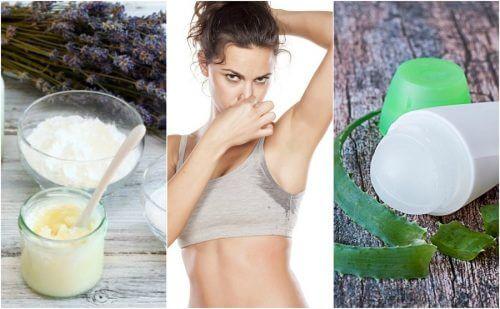 I deodoranti naturali contro il cattivo odore delle ascelle