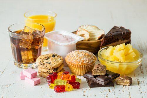 Dolci e bevande zuccherate