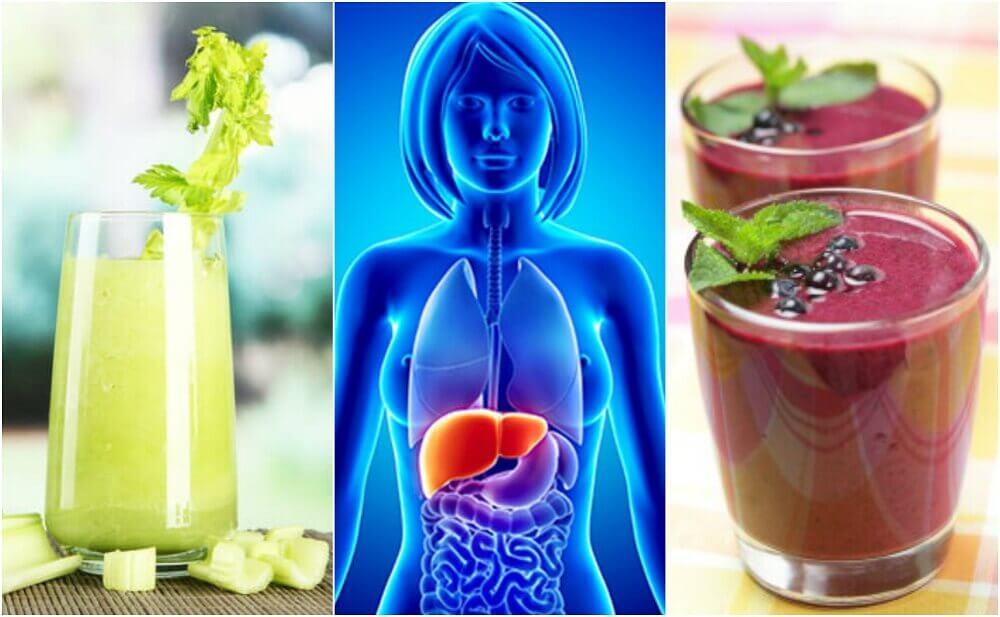 Depurate il fegato con 4 frullati vegetali