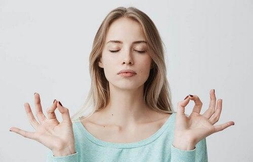 La meditazione.